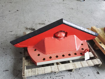 TBM Machine Parts Central Scraper Heat Treatmen Apply In Geological Conditions