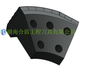 4 Holes 5 Holes TBM Scrapper / Boring Machine Cutter High Efficiency