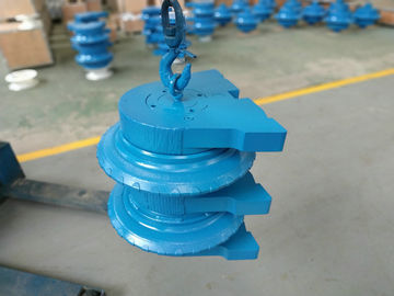 Twin TBM Tools , Tunneling Boring Machine Cutter H13 , 42CrMo Material