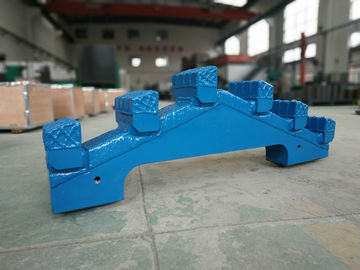 China Durable Central Scraper TBM Spare Parts Subway Drilling Size Customized distributor
